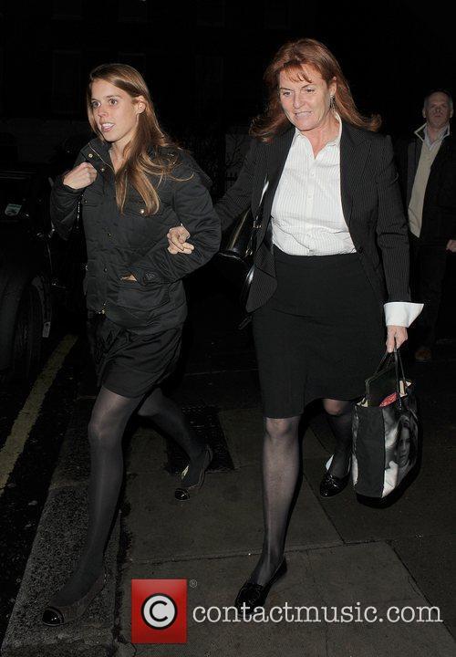 Princess Beatrice and Sarah Ferguson 13