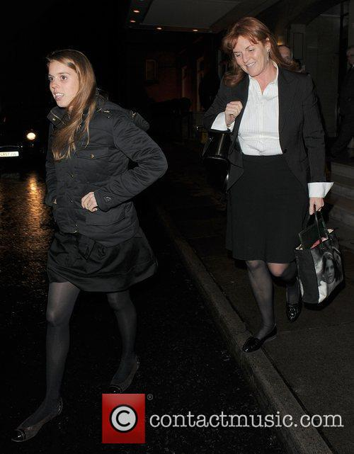 Princess Beatrice and Sarah Ferguson 10