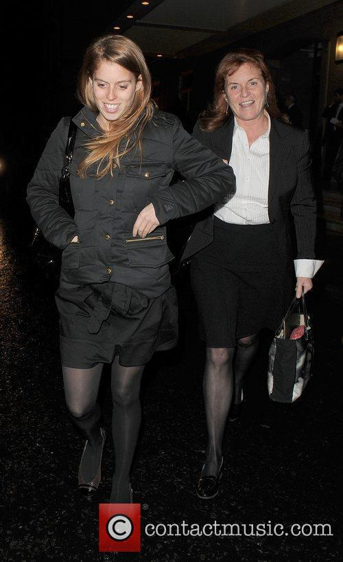 Princess Beatrice and Sarah Ferguson 11
