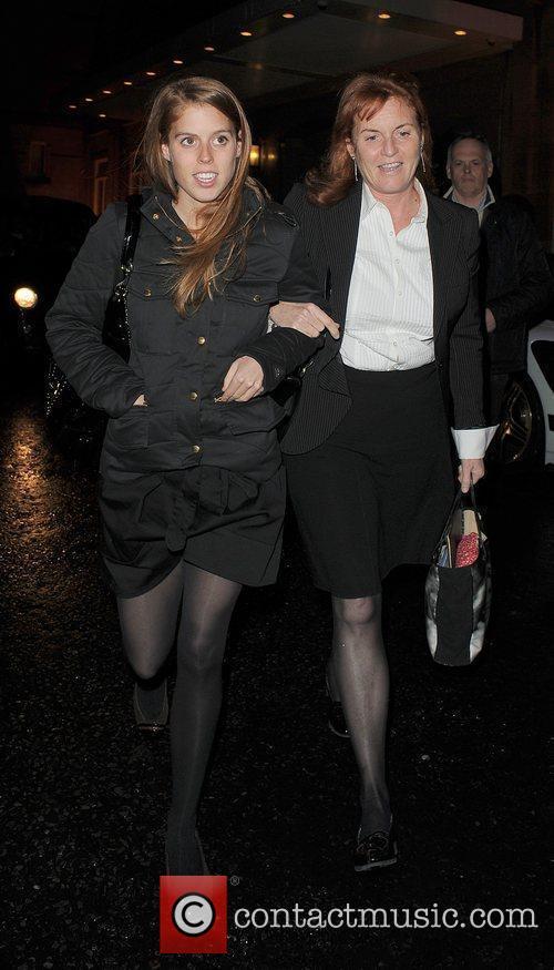 Princess Beatrice and Sarah Ferguson 14