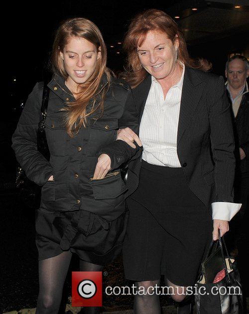Princess Beatrice and Sarah Ferguson 21