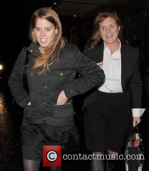 Princess Beatrice and Sarah Ferguson 6