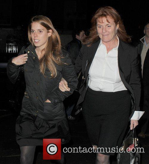 Princess Beatrice and Sarah Ferguson 8