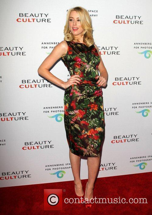 Amber Heard 'Beauty Culture' Photographic Exploration held at...