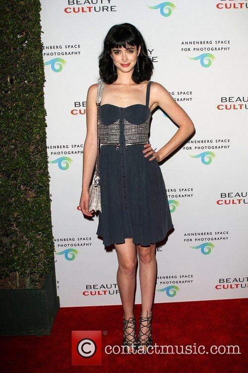 Krysten Ritter 'Beauty Culture' Photographic Exploration held at...