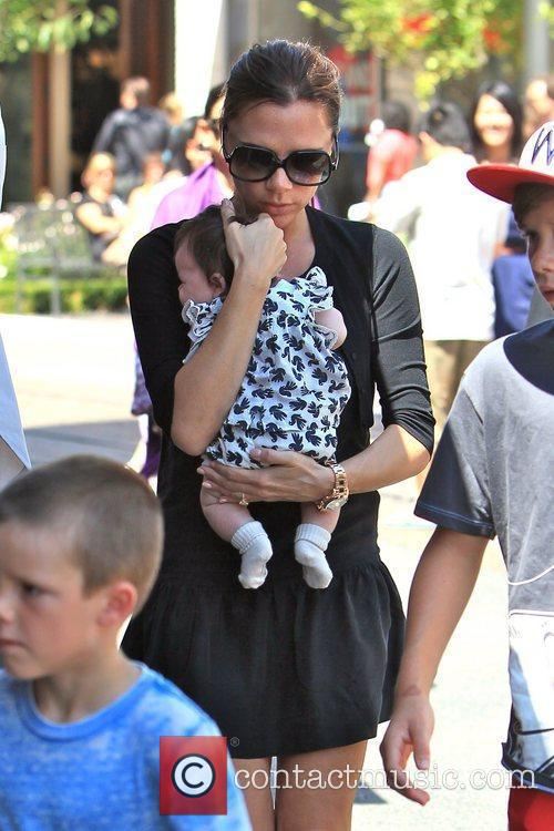 Victoria Beckham and Brooklyn 1