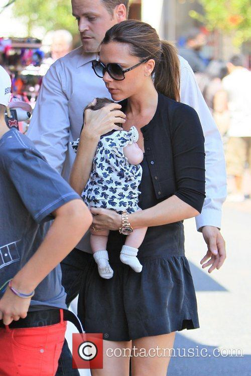 Victoria Beckham and Brooklyn 20