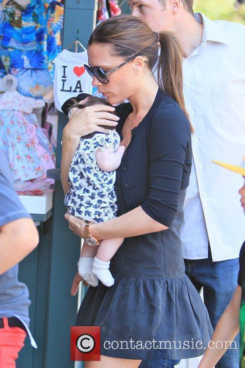 Victoria Beckham and Brooklyn 37