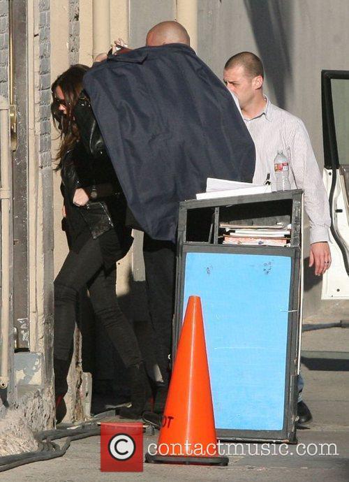 Victoria Beckham and Jimmy Kimmel 1
