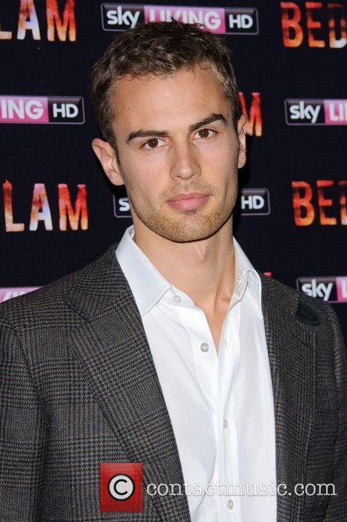 Theo James Bedlam TV show Launch at the...