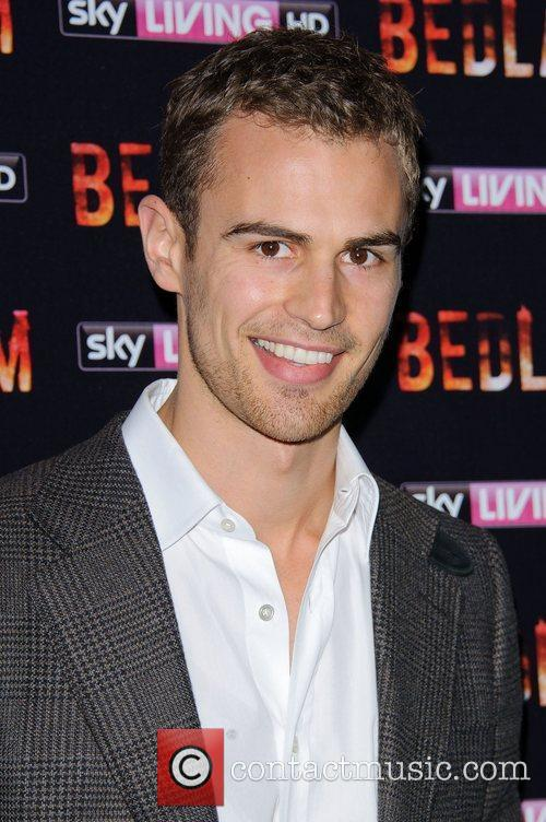 Theo James Bedlam TV show Launch at the British Acadamy ... | Theo