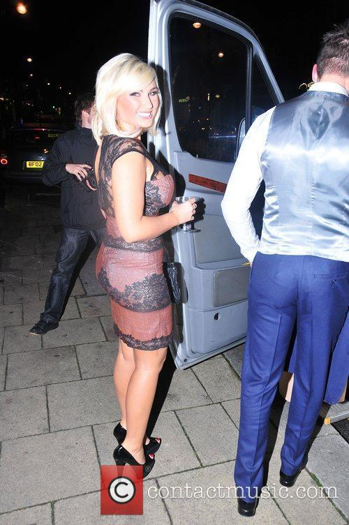 Billie Faiers,  at the launch of Bella...