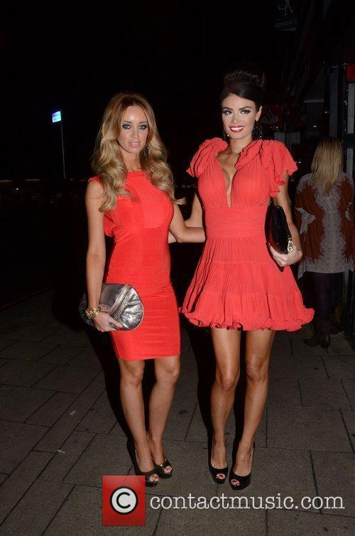 Chloe Sims And Lauren Pope  at the...