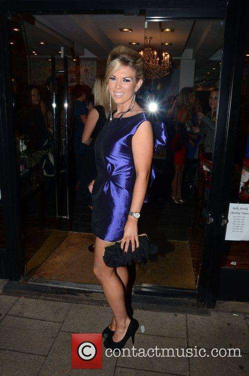 Frankie Essex (  at the launch of...