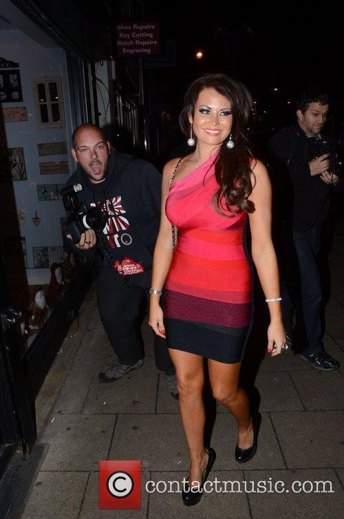Jessica Wright  at the launch of Bella...