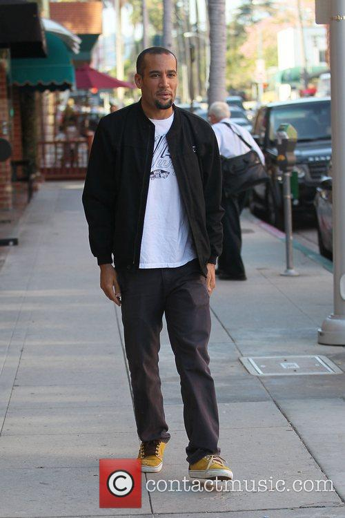 ben harper out and about in beverly 3579344