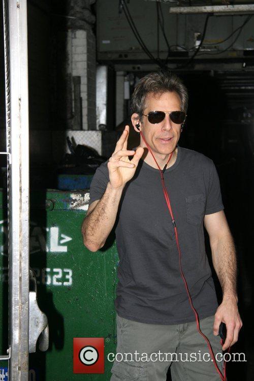 Ben Stiller is seen arriving at the Walter...