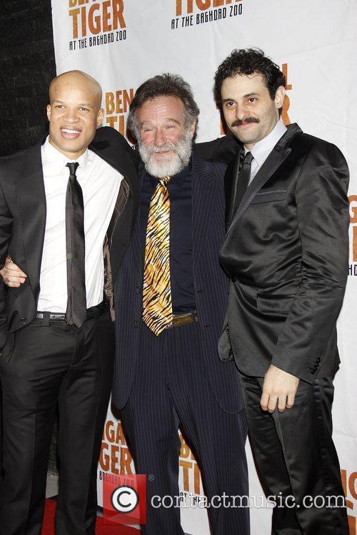 Glenn Davis and Robin Williams