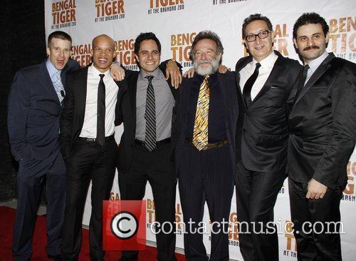 Brad Fleischer, Glenn Davis, Rajiv Joseph, Robin Williams,...