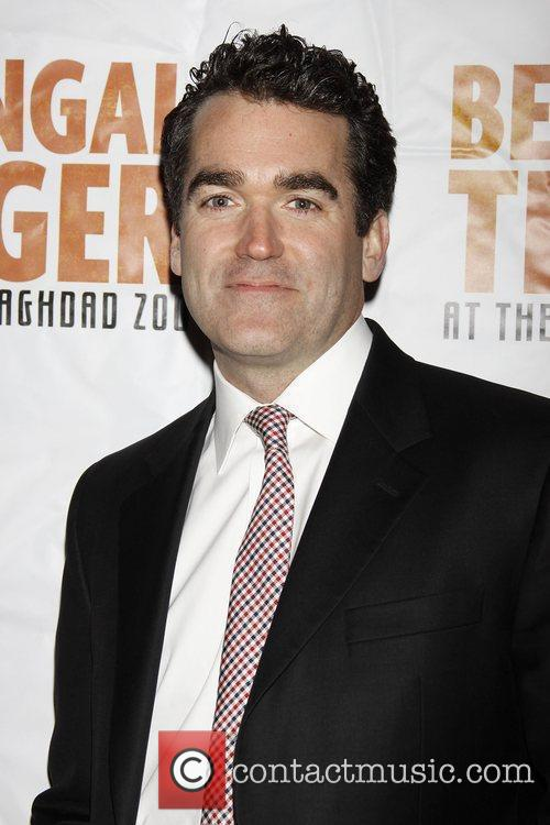 Brian d'Arcy James Opening night of the Broadway...