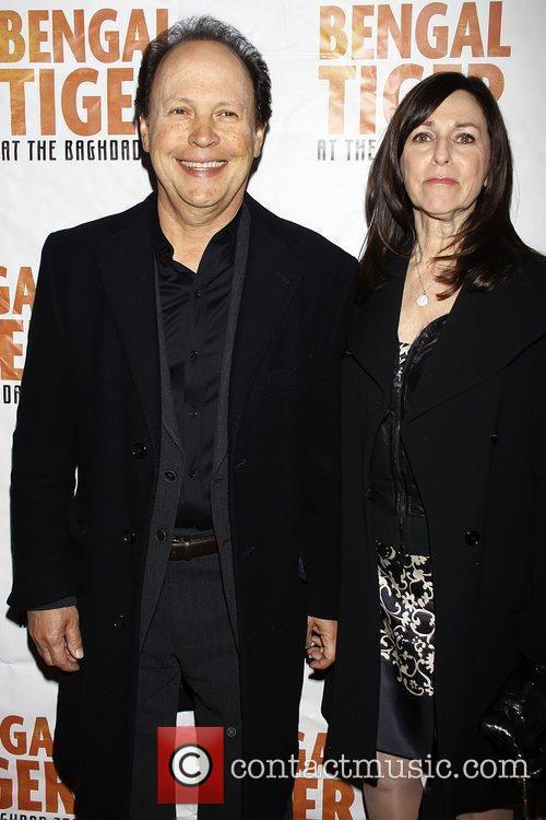 Billy Crystal and Janice Crystal Opening night of...