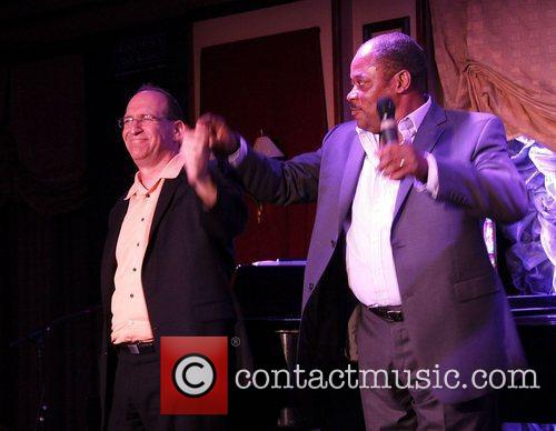 Neil Berg and Lawrence Clayton Opening night of...