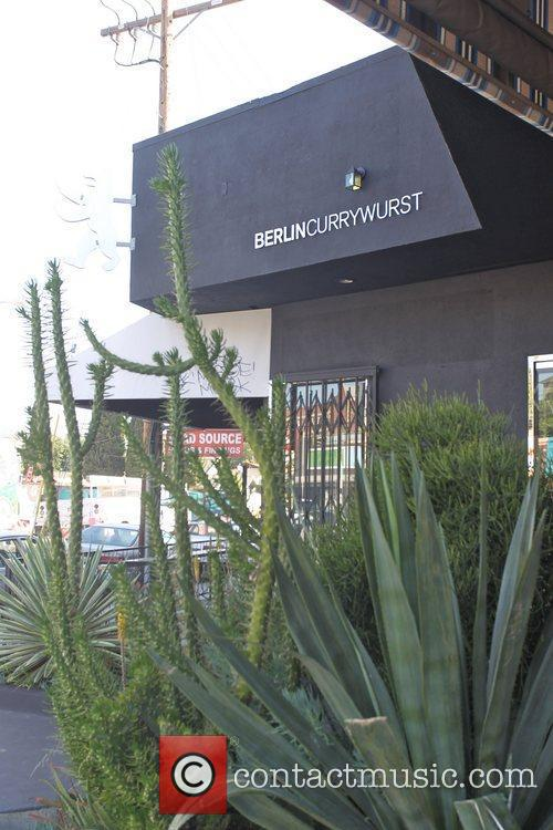 The new 'Berlin Currywurst' store in Hollywood