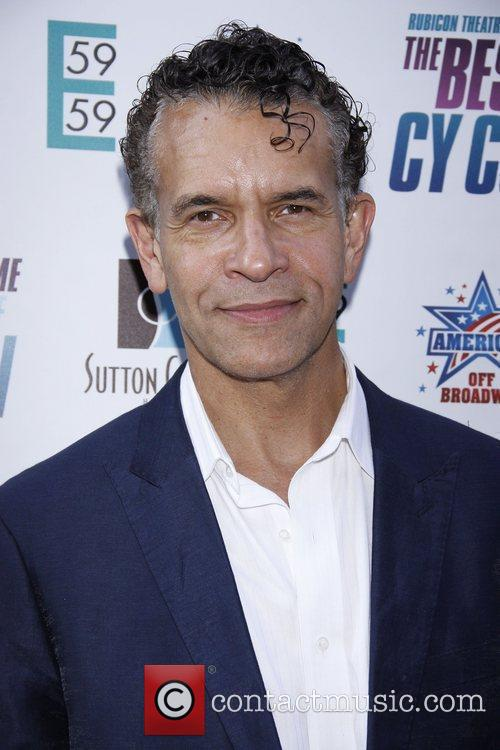 Brian Stokes Mitchell Opening night of the Rubicon...
