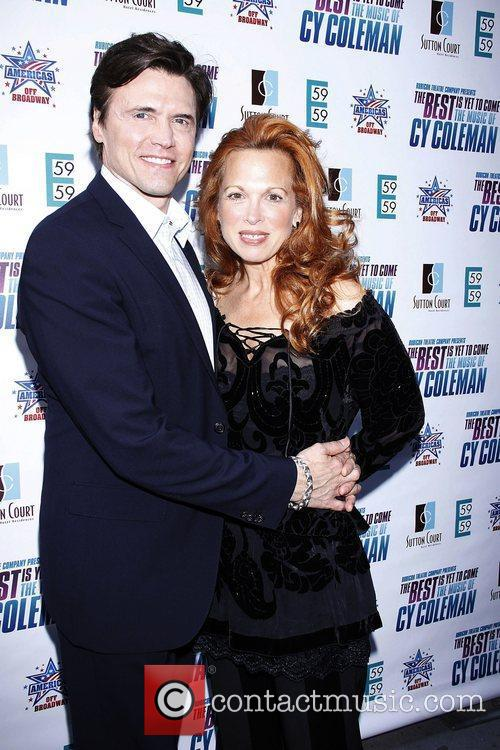 Brent Barrett and Carolee Carmello  Opening night...