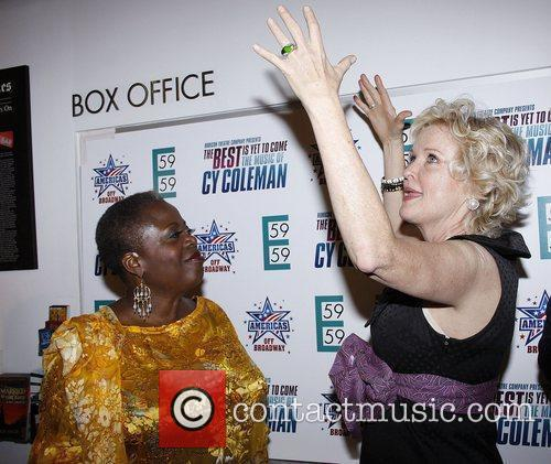 Lillias White and Christine Ebersole  Opening night...