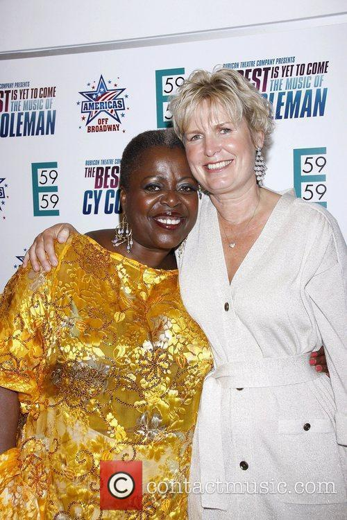 Lillias White and Shelby Coleman  Opening night...
