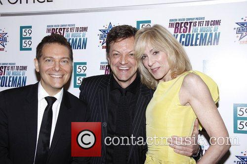 Michael Feinstein, Jim Caruso and Judith Light...
