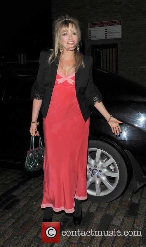 Jo Wood 'Best of British Talent' Party, held...