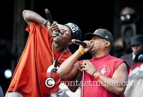 Chuck D, Flavor Flav and Public Enemy 6
