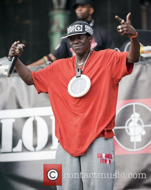 Flavor Flav and Public Enemy 5