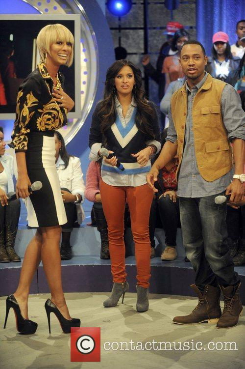 Appear on BET's 106 & Park with Raquel...