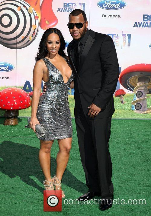 Flo Rida and Melyssa Ford The 11th Annual...