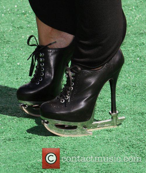Lady Gaga Impersonator BET Awards '11 held at...