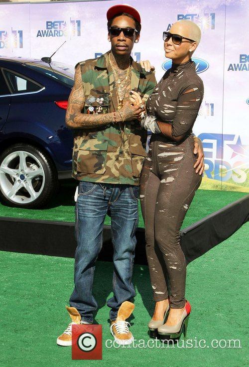 Wiz Khalifa, Amber Rose, Bet Awards