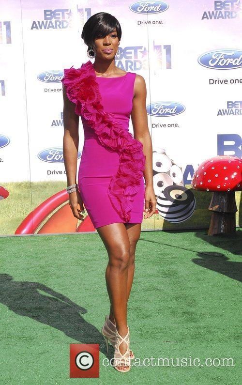 Kelly Rowland  BET Awards '11 held at...
