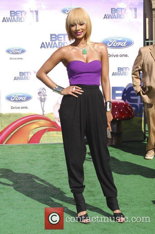 Keri Hilson  BET Awards '11 held at...