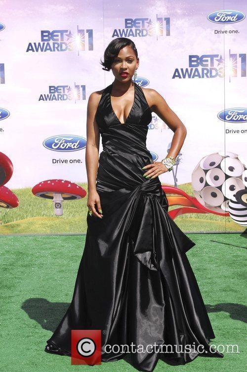 Meagan Good  BET Awards '11 held at...