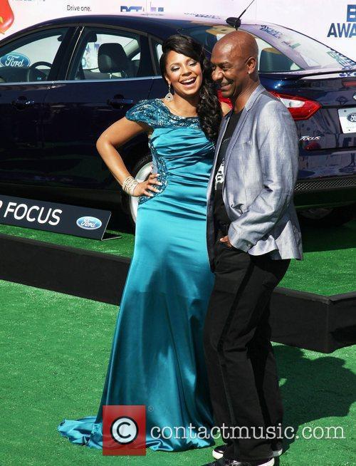 Ashanti and Stephen Hill BET Awards '11 held...