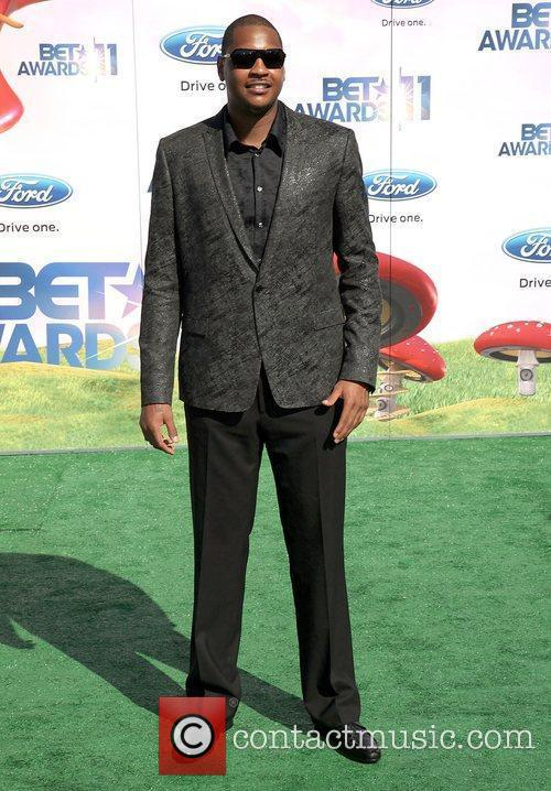 Carmelo Anthony BET Awards '11 held at the...