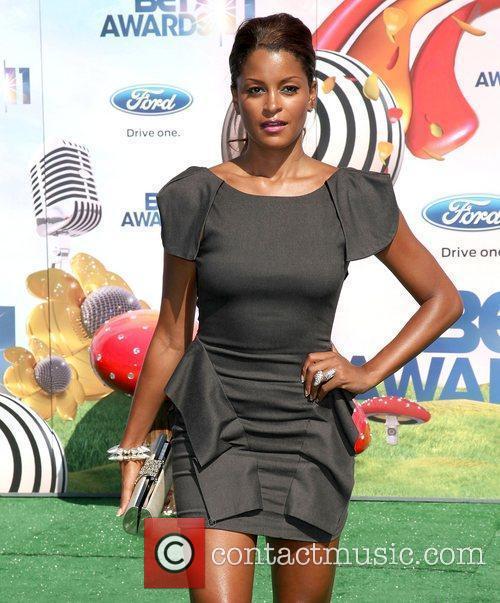 Claudia Jordan BET Awards '11 held at the...