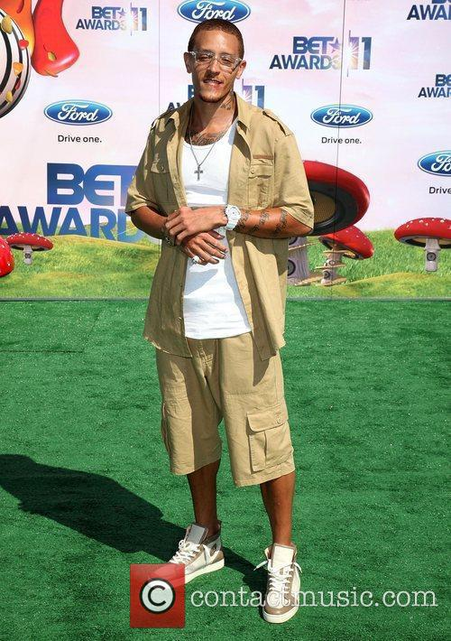 Delonte West BET Awards '11 held at the...