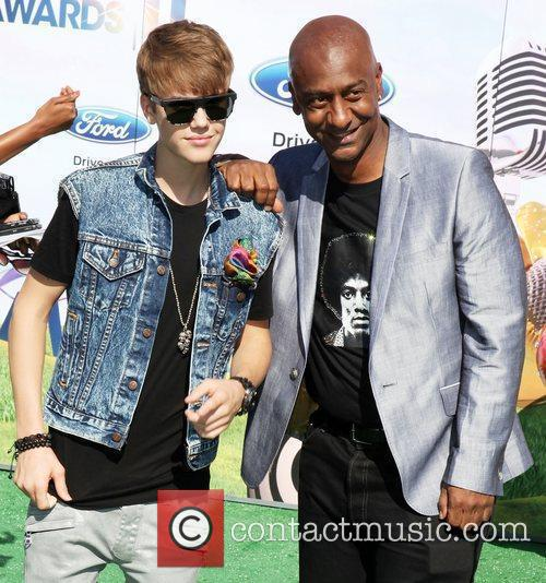 Justin Bieber and Stephen Hill BET Awards '11...