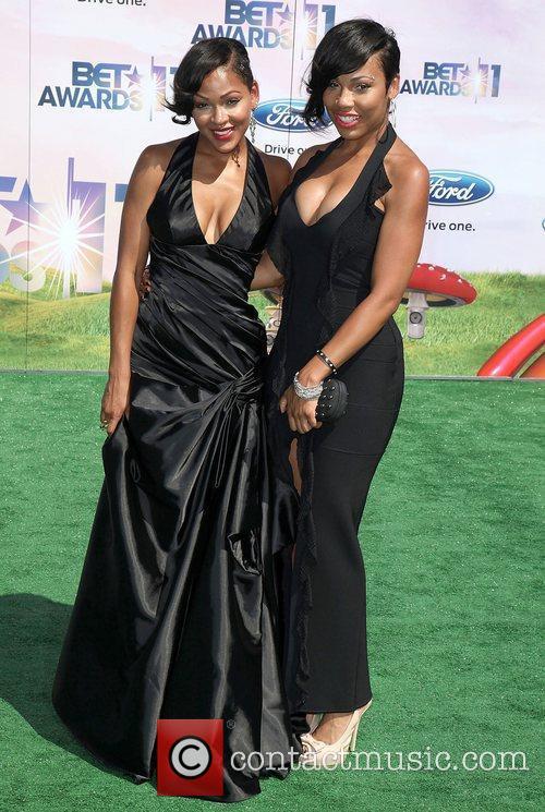 Meagan Good and La'Myia Good BET Awards '11...