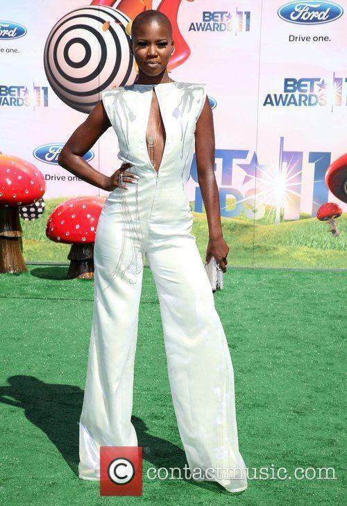Veronika Bozeman BET Awards '11 held at the...
