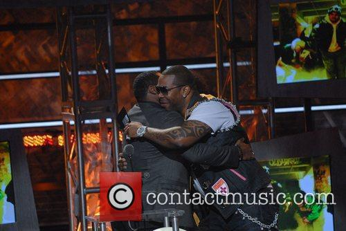 Malcolm-jamal Warner and Busta Rhymes 1